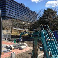 NTT通信研究所のフェンス取付工事を施工させていただきました。