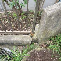竹之丸 擁壁解体、新設CPブロック据付け工事_190920_0003