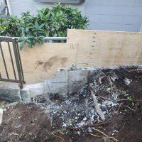 竹之丸 擁壁解体、新設CPブロック据付け工事_190920_0022