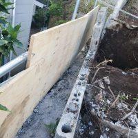 竹之丸 擁壁解体、新設CPブロック据付け工事_190920_0023