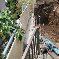 竹之丸 擁壁解体、新設CPブロック据付け工事_190920_0026