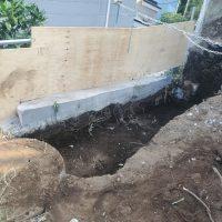 竹之丸 擁壁解体、新設CPブロック据付け工事_190920_0027
