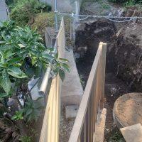 竹之丸 擁壁解体、新設CPブロック据付け工事_190920_0029