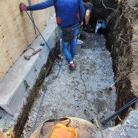 竹之丸 擁壁解体、新設CPブロック据付け工事_190920_0032
