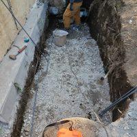 竹之丸 擁壁解体、新設CPブロック据付け工事_190920_0033