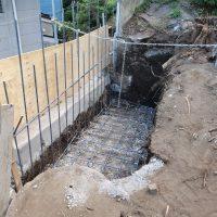 竹之丸 擁壁解体、新設CPブロック据付け工事_190920_0035