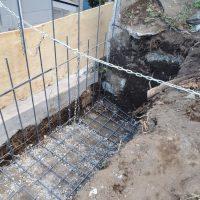 竹之丸 擁壁解体、新設CPブロック据付け工事_190920_0036