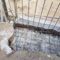 竹之丸 擁壁解体、新設CPブロック据付け工事_190920_0037