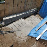竹之丸 擁壁解体、新設CPブロック据付け工事_190920_0040