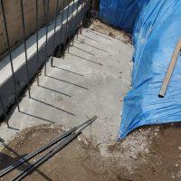 竹之丸 擁壁解体、新設CPブロック据付け工事_190920_0041