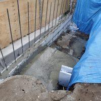 竹之丸 擁壁解体、新設CPブロック据付け工事_190920_0043
