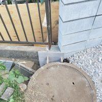 竹之丸 擁壁解体、新設CPブロック据付け工事_190920_0047