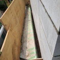 竹之丸 擁壁解体、新設CPブロック据付け工事_190920_0050