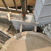 竹之丸 擁壁解体、新設CPブロック据付け工事_190920_0051
