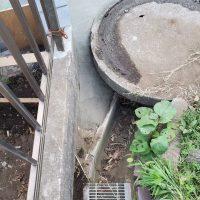 竹之丸 擁壁解体、新設CPブロック据付け工事_190920_0055