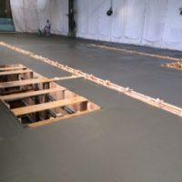 ベアリング工場のメッキシステムの基礎工事及び土間のコンクリートを打設させていただきました。