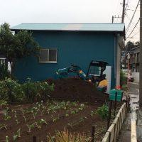 長井 小屋解体、新設土間工事_190920_0013