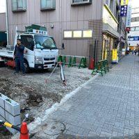共済病院 ブロック舗装工事_200326_0005