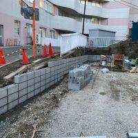 共済病院 ブロック舗装工事_200326_0006