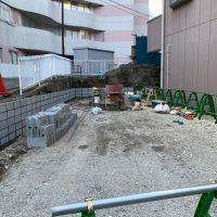 共済病院 ブロック舗装工事_200326_0007