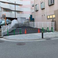 共済病院 ブロック舗装工事_200326_0012