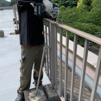 三浦富士屋上フェンス回収工事_200831_0