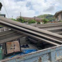 三浦富士屋上フェンス回収工事_200831_3